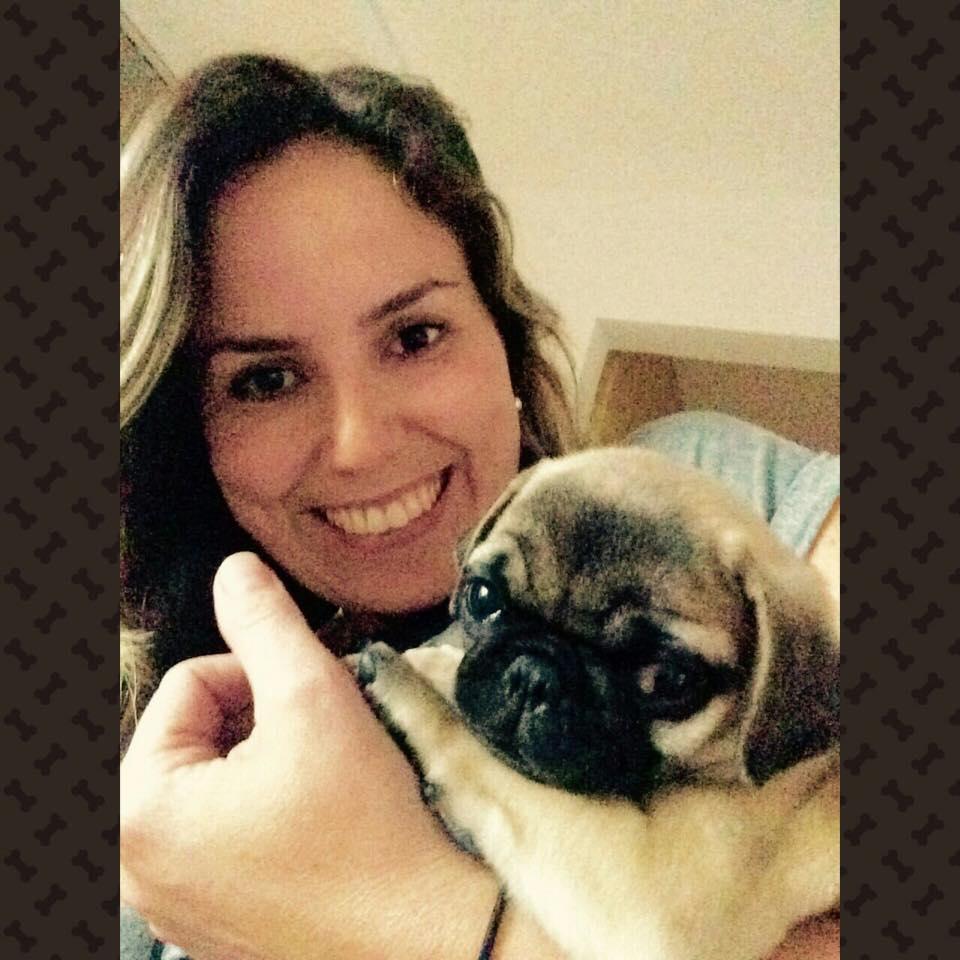 Andrea com filhote Ben - Belo Horizonte/MG
