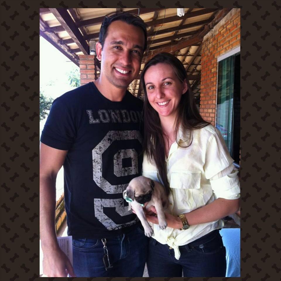 Lenilson & Vanusa com filhote Ozzy – Belém/PA