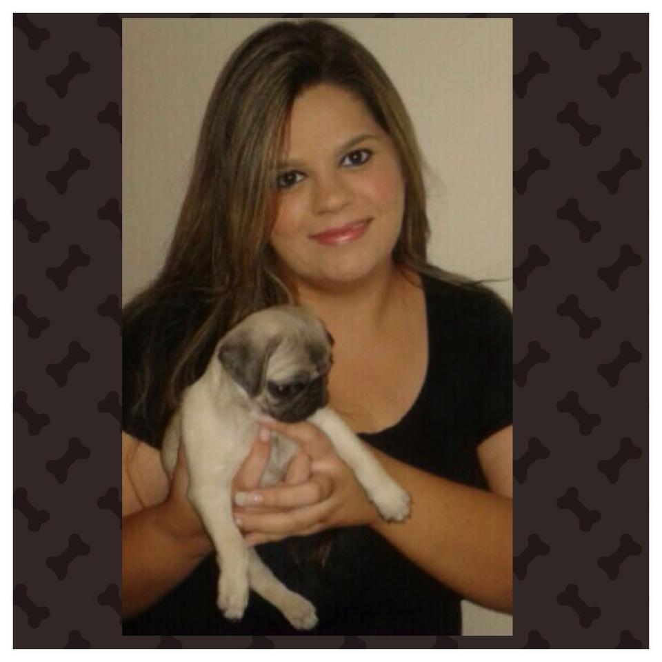Anna Amélia com filhote Amora – Montes Claros/MG