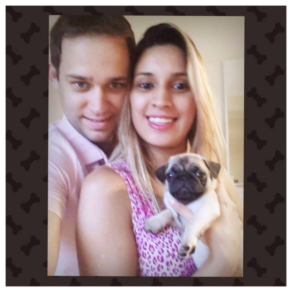 Camila & Thiago com filhote Marilda – São Paulo/SP