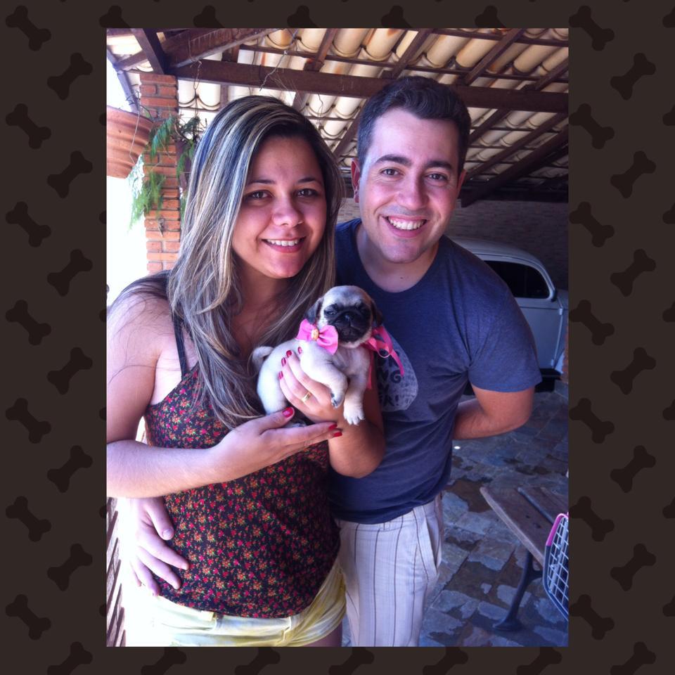 Juliana & Marcus com filhote Lolla – Belo Horizonte/MG