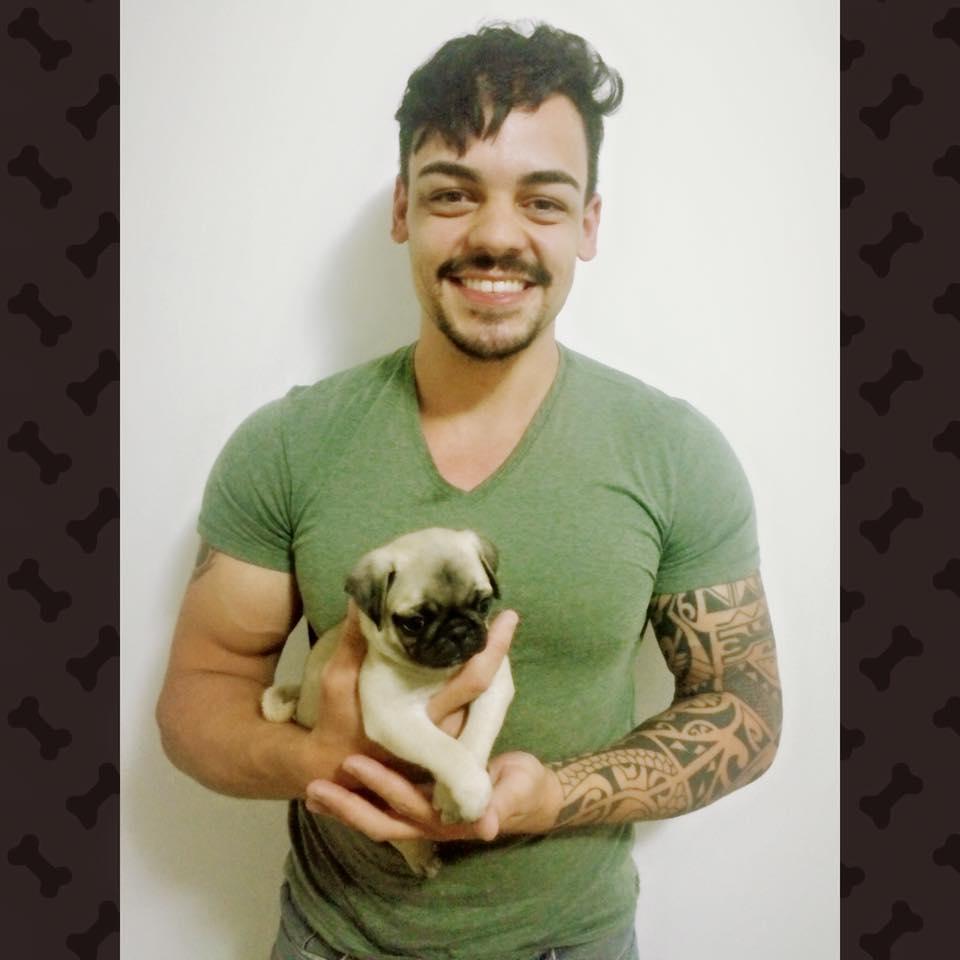 Marco com o filhote Alfredo - Belo Horizonte-MG